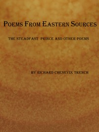 cover for book Poems from Eastern Sources: