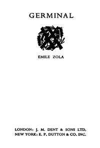 Cover of the book Germinal by Émile Zola
