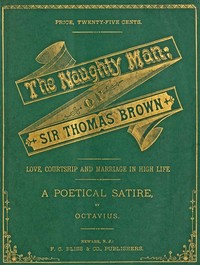 cover for book The Naughty Man; or, Sir Thomas Brown
