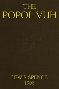 cover for book The Popol Vuh