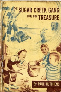 cover for book The Sugar Creek Gang Digs for Treasure
