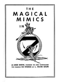 cover for book The Magical Mimics in Oz