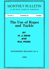 cover for book The Use of Ropes and Tackle