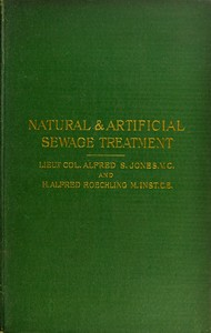 cover for book Natural & Artificial Sewage Treatment