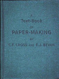 cover for book A Text-book of Paper-making
