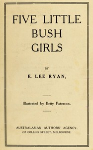 cover for book Five Little Bush Girls