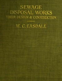 cover for book Sewage Disposal Works