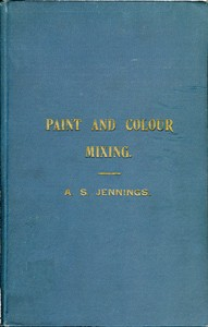 cover for book Paint & Colour Mixing