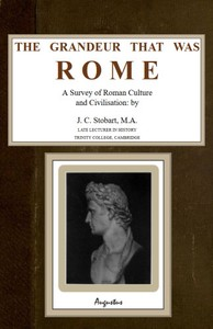 Cover of the book The Grandeur That Was Rome by J. C. (John Clarke) Stobart