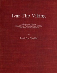 cover for book Ivar the Viking