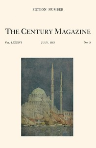 cover for book The Century Illustrated Monthly Magazine, July, 1913