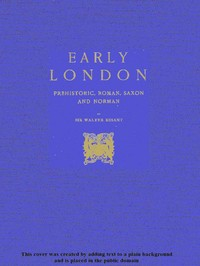 cover for book Early London