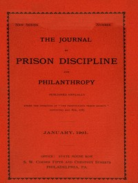 cover for book The Journal of Prison Discipline and Philanthropy (New Series, No. 40)