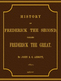 cover for book History of Frederick the Second