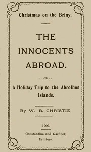 cover for book Christmas on the Briny, The Innocents Abroad