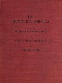 cover for book The Humour of America