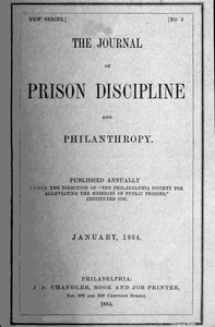 cover for book The Journal of Prison Discipline and Philanthropy
