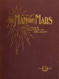 Cover of the book The Man from Mars by W. J. (William John) Sparrow-Simpson