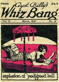 cover for book Captain Billy's Whiz Bang, Vol. 2, No. 18, March, 1921