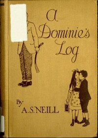 cover for book A Dominie's Log