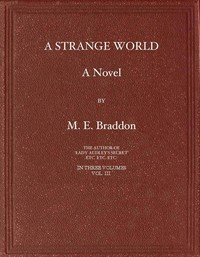 cover for book A Strange World, Volume 3 (of 3)