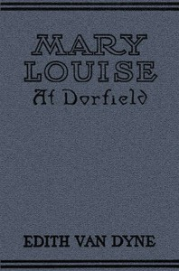 cover for book Mary Louise at Dorfield