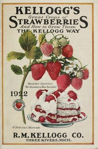 Cover of the book Kellogg's Great Crops of Strawberries by R. M. Kellogg Co.
