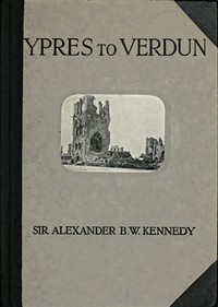 cover for book Ypres to Verdun