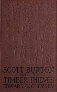 cover for book Scott Burton and the Timber Thieves