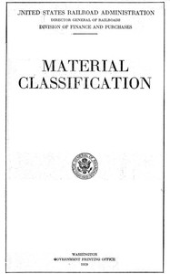 cover for book Material Classification