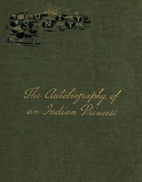 cover for book The Autobiography of an Indian Princess