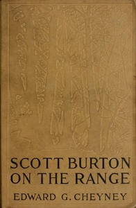 cover for book Scott Burton on the Range