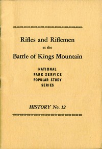 cover for book Rifles and Riflemen at the Battle of Kings Mountain