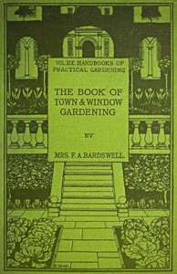 cover for book The Book of Town & Window Gardening