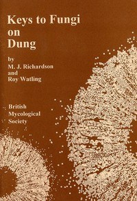 cover for book Keys to Fungi on Dung