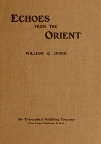 cover for book Echoes From The Orient