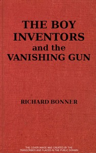 cover for book The Boy Inventors and the Vanishing Gun