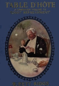 cover for book Table d'Hôte