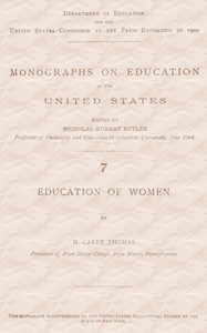 cover for book Education of Women