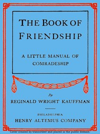 cover for book The Book of Friendship