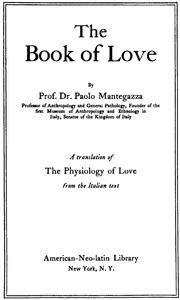 cover for book The Book of Love