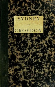 cover for book Sydney to Croydon (Northern Queensland)