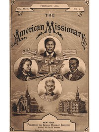 cover for book The American Missionary — Volume 36, No. 2, February, 1882