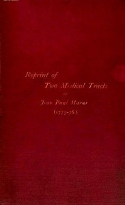 cover for book Reprint of Two Tracts