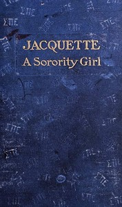 cover for book Jacquette, A Sorority Girl