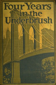 Cover of the book Four Years in the Underbrush by Anonymous