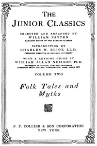 cover for book The Junior Classics, Volume 2: Folk Tales and Myths