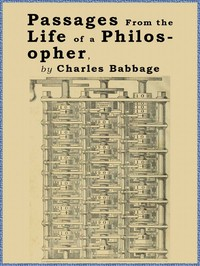 Cover of the book Passages from the Life of a Philosopher by Charles Babbage