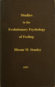 cover for book Studies in the Evolutionary Psychology of Feeling