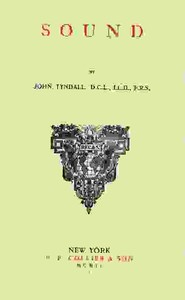 Cover of the book Sound by John Tyndall